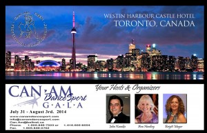 Can-Am Dancesport Gala @ The Westin Harbour Castle Hotel | Toronto | Ontario | Canada